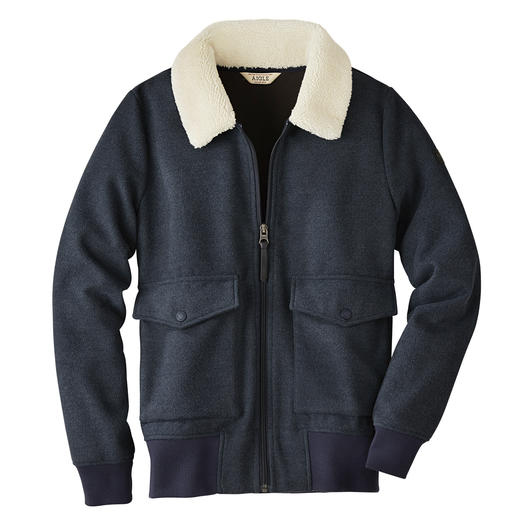 Aigle Women's Fleece Bomber Jacket Wonderfully warm and soft – yet pleasantly lightweight.