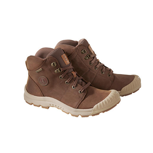 Aigle Waterproof Hiking Boots Hiking boots should be lightweight, waterproof and gentle on the joints. These also look fantastic.