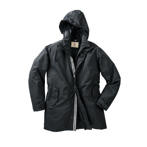 Aigle Parka Damengu Wind and waterproof. Breathable. With warm padding. From outdoor specialist Aigle, France.