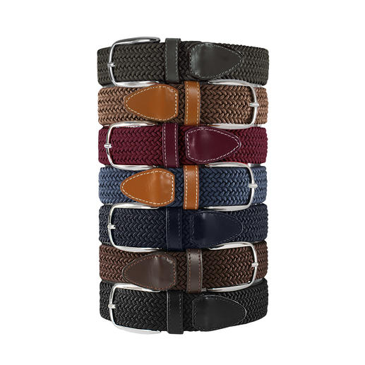 Khaki, Beige, Bordeaux, Denim Blue, Navy, Brown and Black
