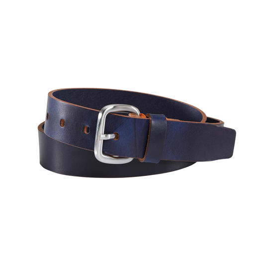 Ludwig Schröder Jeans Belt Thanks to traditional pit tanning almost indestructible. By Ludwig Schröder, leather goods since 1825.