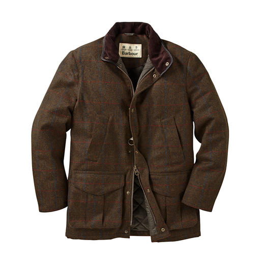 Barbour Hunting Jacket 2.0 To this day, the individual parts are still stitched together slowly and carefully by hand. By Barbour.