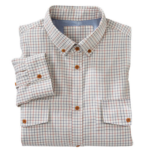 Peregrine Tattersall Light Flannel Shirt Tattersall: A stylish British classic among fashionable checks. By Peregrine.