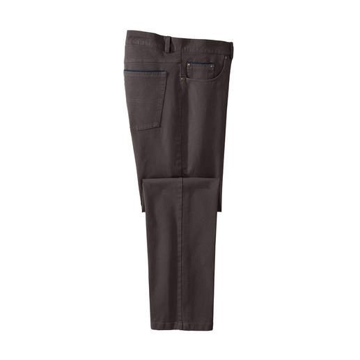 Five-Pocket Winter Cotton Trousers Warm without lining. Wind repellent without the use of chemicals.