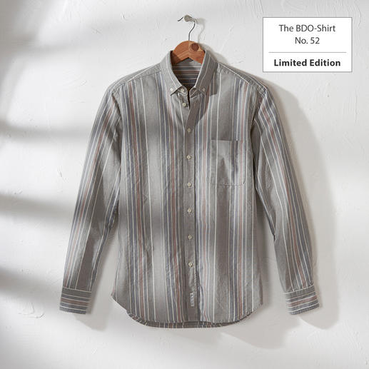 The BDO-shirt, Limited Edition No. 52 - Meet a good old friend. And forget that shirts always need ironing.