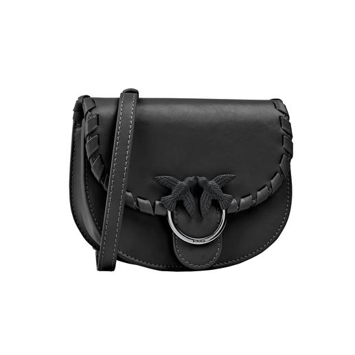 Pinko belt bag From the Iabel Pinko in the popular round shape. Of high-quality calfskin. And for a great price.
