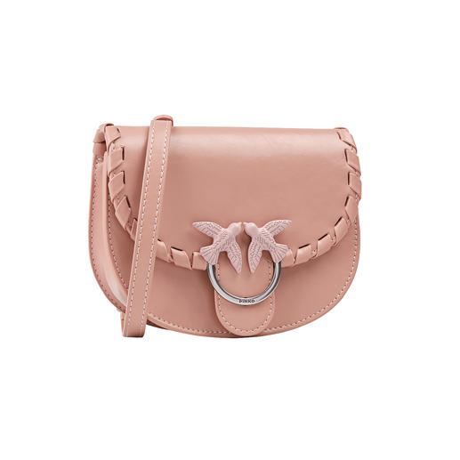 The belt bag is the it-piece of the designer. From the Iabel Pinko in the popular round shape. Of high-quality calfskin. And for a great price.