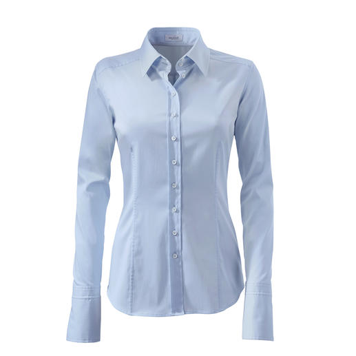 "van Laack Basic Blouse ""Cup Sizes"" Perfect fit in bust and waist. Thanks to 3 different ""cup"" sizes. By van Laack,  Germany's blouse specialists."