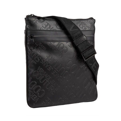 Versace Jeans Couture Logo Bag - Fashionable logo print. Handy cross-body design with lots of space for all your belongings.