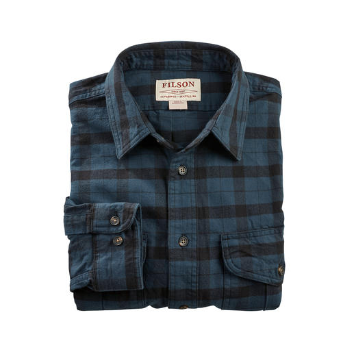 Filson Alaska Guide Shirt Cult status in the USA for a very long time – difficult to find in this country. By Filson.