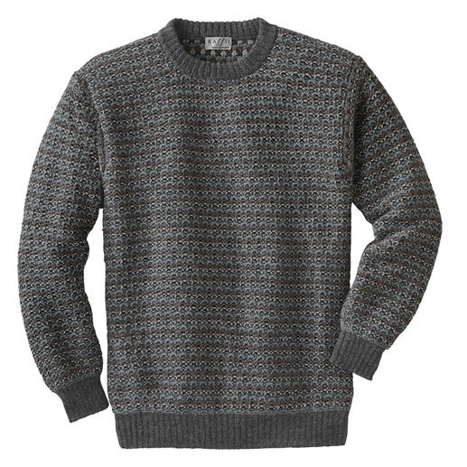 Intiwara Alpaca Wool Pullover A rare knitted masterpiece from the Andes. Not mass-produced in the Far East.