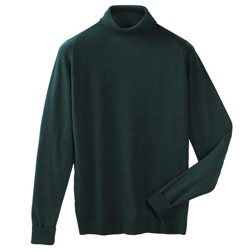 Polo Neck Pullover, Fir