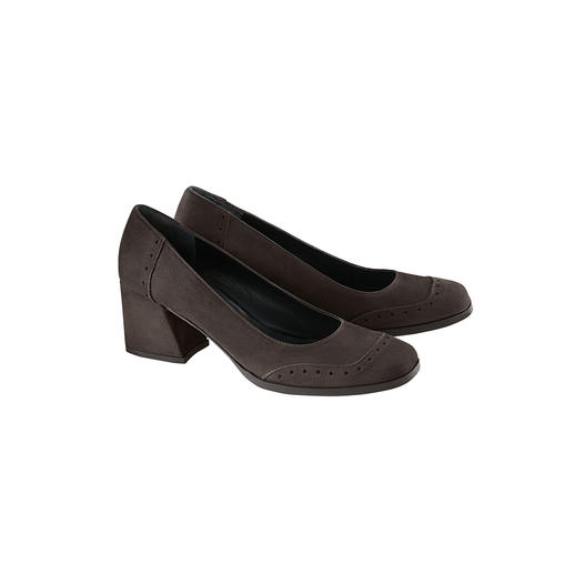 "Fashionable instead of frumpy: Comfortable 6cm (2.4"") block heel pumps by Marta Ray. Fashionable instead of frumpy: Comfortable 6cm (2.4"") block heel pumps by Marta Ray. Made in Italy."