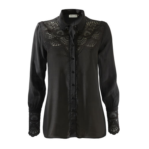 Uncomplicated lace top for every occasion. Uncomplicated lace top for every occasion. By Rosemunde Copenhagen.