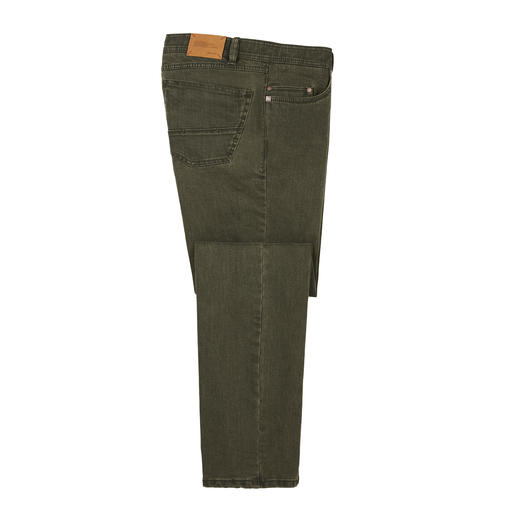 Coloured Flex Denim Jeans Robust 10 ounce denim – and still as comfortable