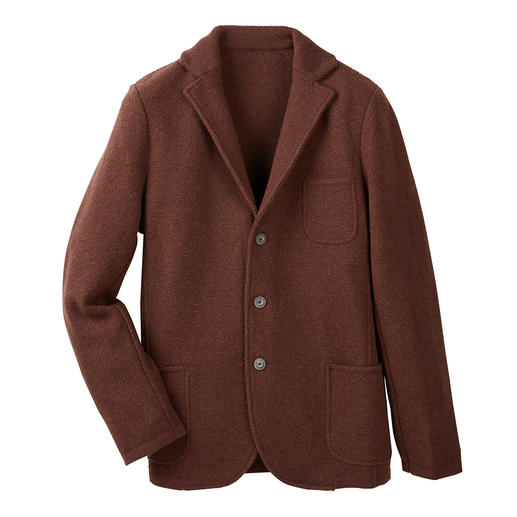 Gran Sasso Geelong Knitted Blazer - A softer, better wool blazer is hard to find.