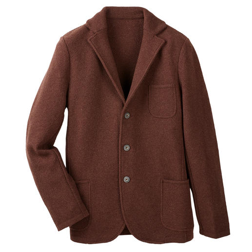 Gran Sasso Geelong Knitted Blazer A softer, better wool blazer is hard to find.
