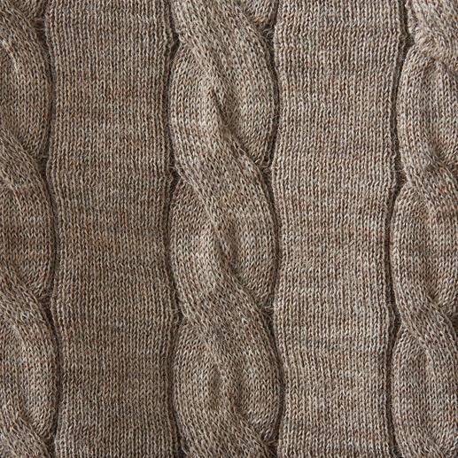 Inca Cable Knit Slipover