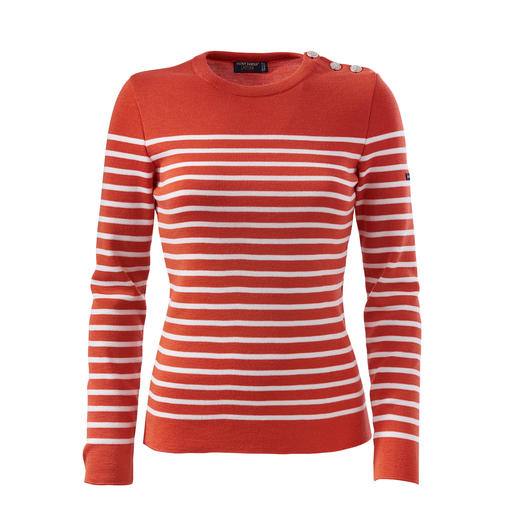 Saint James Women's Fisherman's Sweater The original Breton fisherman's sweater: Made by Saint James for 130 years.