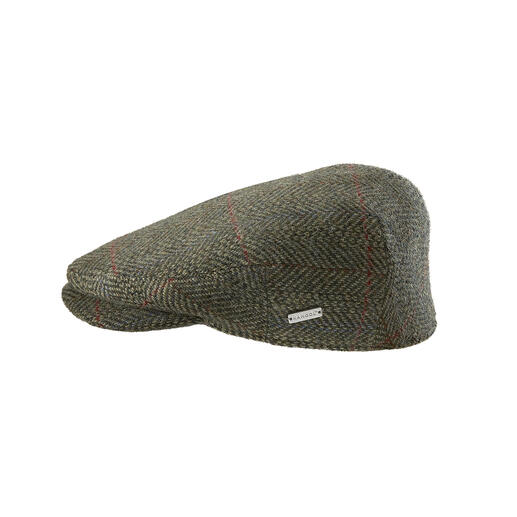 A rare find: A tweed flat cap that is made in England. A rare find: A tweed flat cap that is made in England.
