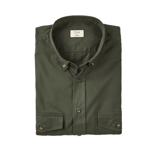 DU4 Cavalry Twill Shirt Sturdy, yet fine enough for business wear: Cavalry twill shirt by Thomas Mason.