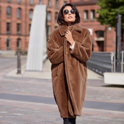 Betta Corradi Faux Fur Coat