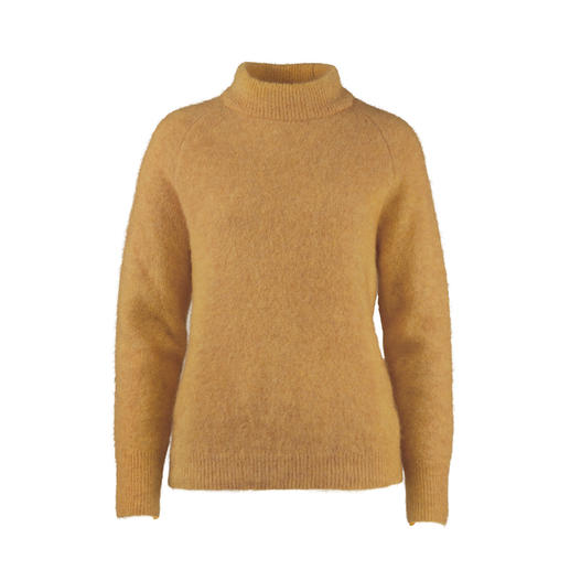Johnnylove Mohair Sweater Less fuzz, more fashion: the mohair pullover from Johnnylove, Norway.