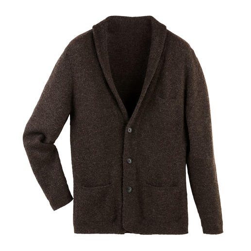 Baby Alpaca Wool Cardigan Made from handpicked baby alpaca wool, one of the most precious fibres in the world.