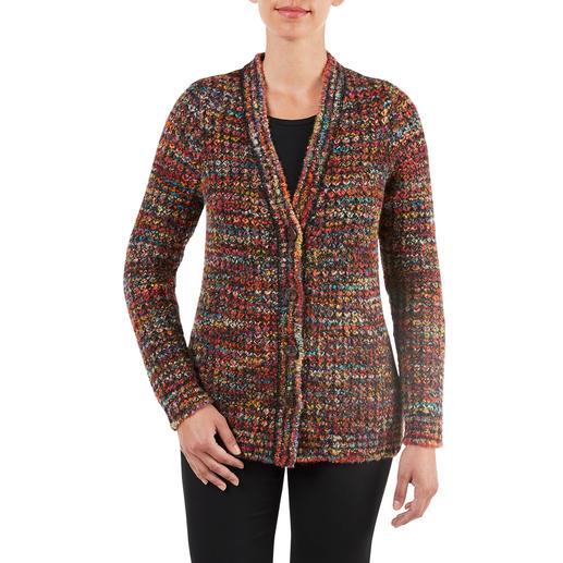 Kero Design Hand-knitted Jacket Multicolour