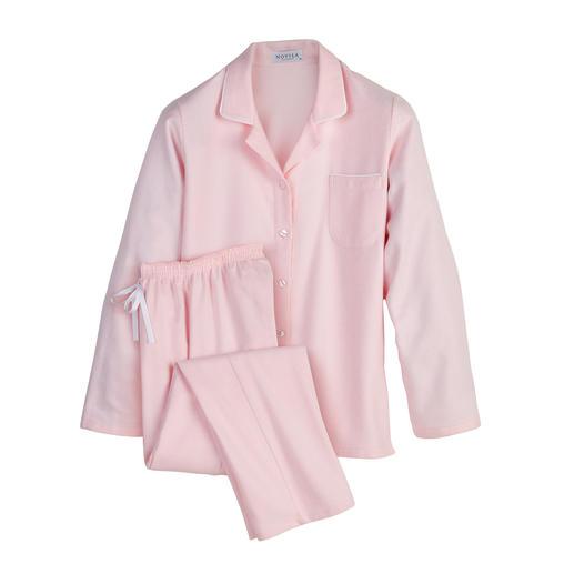 NOVILA Flannel Pyjamas, Women - Pyjamas that make a good first impression every morning.