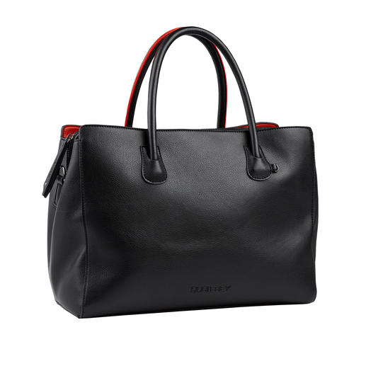 As elegant and fabulously soft as leather. As elegant and fabulously soft as leather. Fashionable business bag at a very reasonable price.