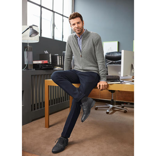 Alberto Jersey Business Trousers