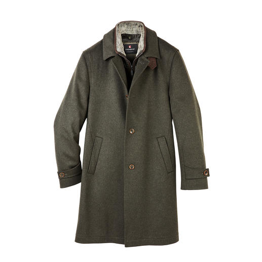 Steinbock® Loden Coat Carefully modernised: The original loden coat by Steinbock®/Austria. A cult classic since 1940.