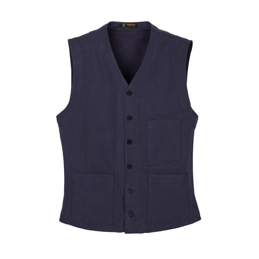 Hollington Heavy Cotton Waistcoat - Indestructible design. The genuine Patric Hollington waistcoat.
