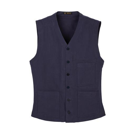 Hollington Heavy Cotton Waistcoat Indestructible design. The genuine Patric Hollington waistcoat.