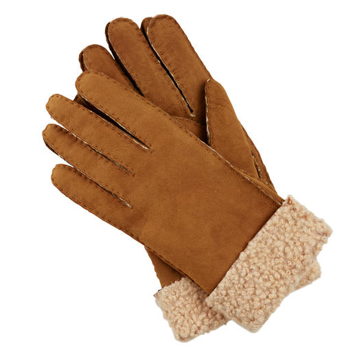 Otto Kessler Curly Lambskin Women's Gloves Exquisite curly lambskin. Perfect fit. Carefully processed. Handcrafted by Otto Kessler.