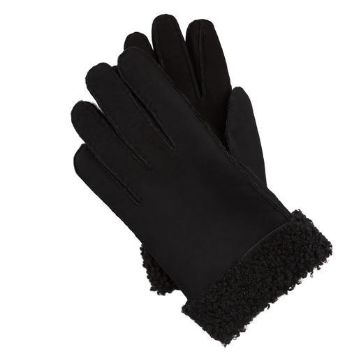 Otto Kessler Curly Lambskin Men's Gloves Exquisite curly lambskin. Perfect fit. Carefully processed. Handcrafted by Otto Kessler.