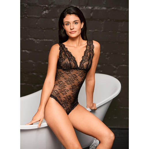 Aubade Lace Body Sensual temptation in a stylish way: Chic lace body by Aubade. Exquisite lingerie from Paris – since 1958.