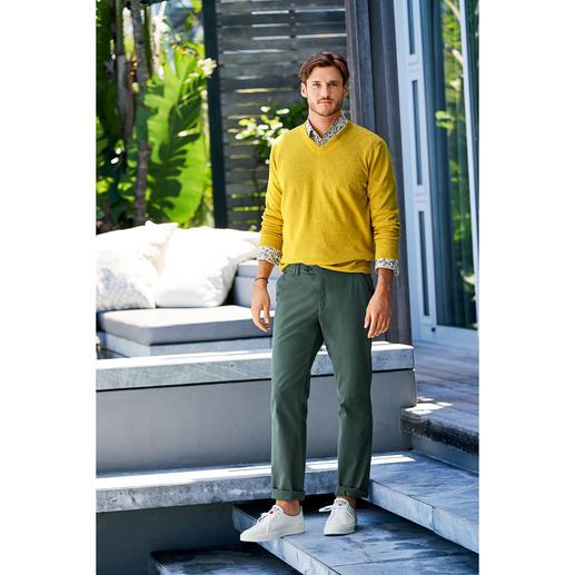 Junghans 1954 Basic Linen Pullover