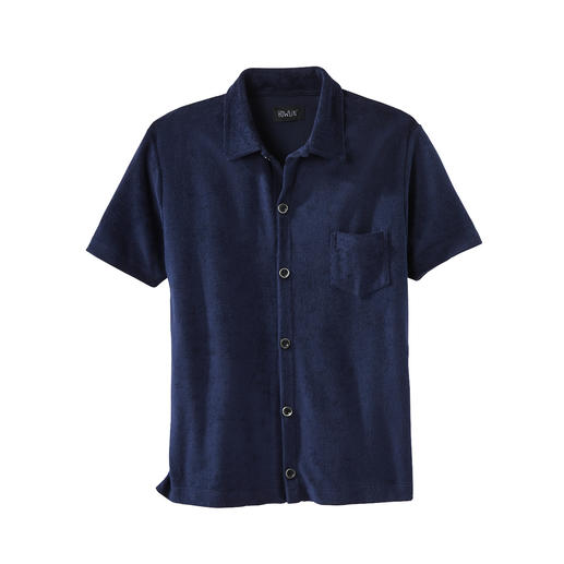 Howlin' Terry Short-Sleeved Shirt Miraculous comfort: The velvety-soft terry shirt. Breathable and moisture-absorbing. From Howlin'.