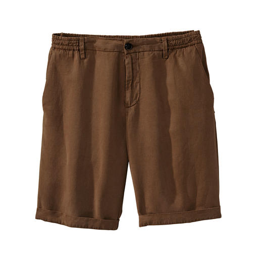 Myths Tencel Linen Shorts Airy shorts made of sophisticated Tencel linen. Made in Italy. By Myths.