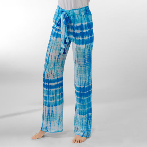 Salty Skin Batik Trousers Highly fashionable batik print, traditionally handmade in Bali.