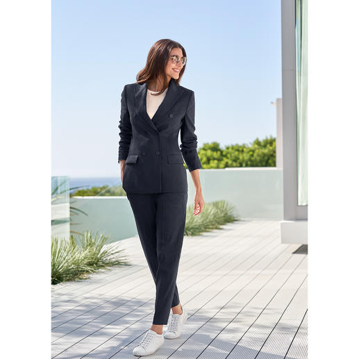 Seventy Blue Suit Trousers or Blazer