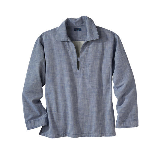 Saint James Fisherman's Shirt Fisherman's Vareuse shirt: The Breton original in the up-to-date trend for workwear.