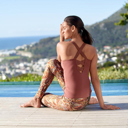 Mandala Wrap-Over Cardigan, Top or Leggings Comfortable enough for yoga, tai chi and the sofa. Chic enough for the fanciest spas and studios.