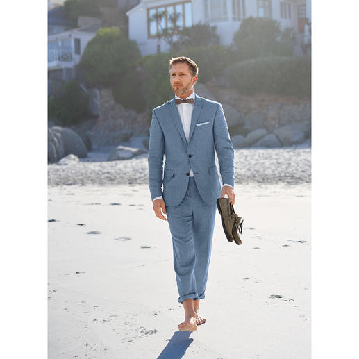 Carl Gross Linen Sports Jacket or Trousers With an optimal fit thanks to individual size selection for jacket and trousers.