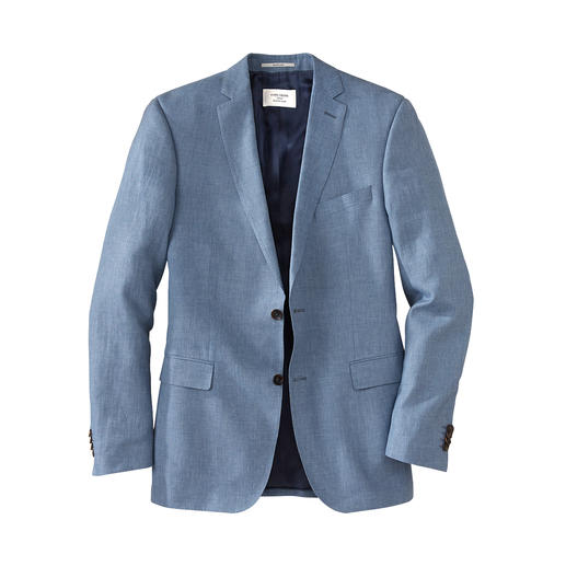 One of the classiest business suits for the summer – thanks to fine linen cloth by Loro Piana. With an optimal fit thanks to individual size selection for jacket and trousers.