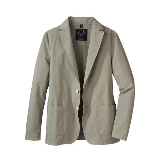 Travel Light Jacket As dressy as a sports jacket. As light and airy as a shirt. Only 300g and unlined. Lightweight travel jacket.
