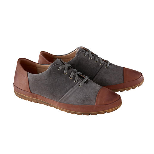 Franz Gustav Calfskin Sneakers Goodyear welted with chrome-free, water-repellent calfskin suede. By Franz Gustav/Germany.