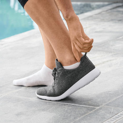 Sneaker socks, Men, White